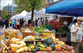 Farmers' Market Still Busy!