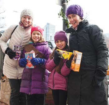 Room to Breathe Program to Sponsor a Holiday Girl Scout Cookie Sale