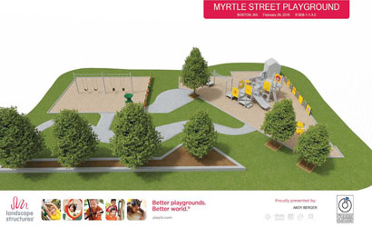 'Evening Under the Stars' to Benefit Myrtle Street Playground Enhancements